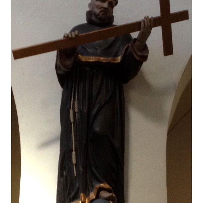 Statue des hl. Franziskus - St. Antonius Seligenthal