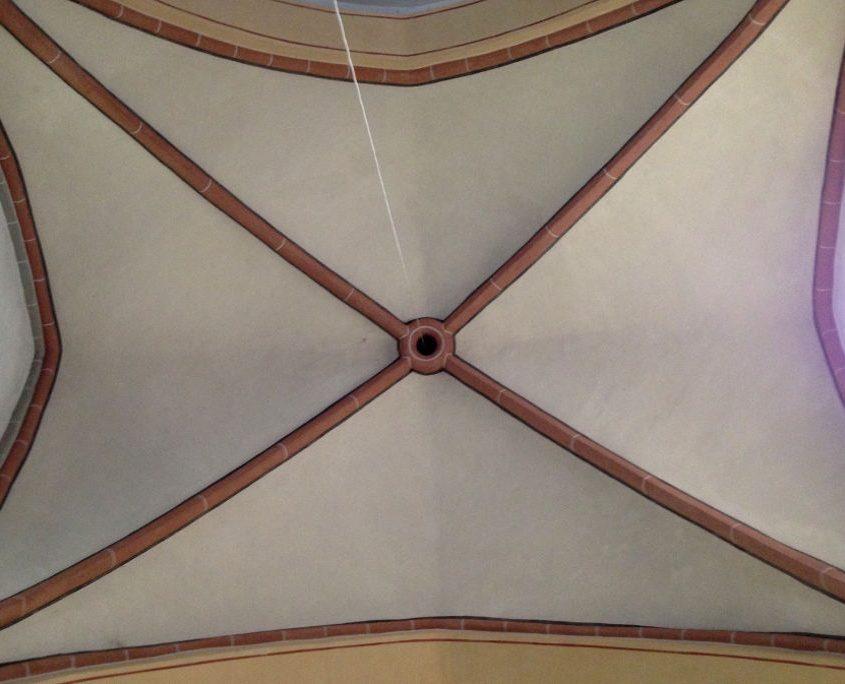 Gewölbedecke St. Antonius Seligenthal