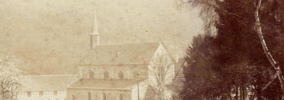 Kloster Seligenthal historische Ansicht
