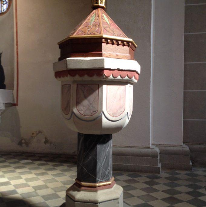 Taufbecken St. Antonius Seligenthal