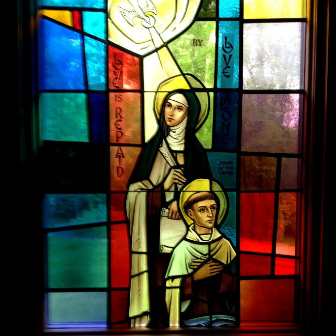 Window of St. Teresa - Chapell of the Hermits of our Lady of mount carmel
