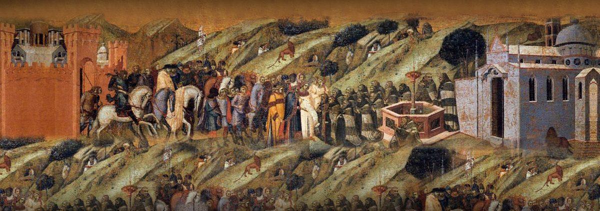 St. Albertus mit den ersten Karmeliten